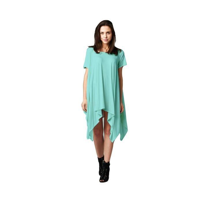 Craze v cou robe de designer rétro taille cocktail à manches 3-4 (vert) CY1Q9