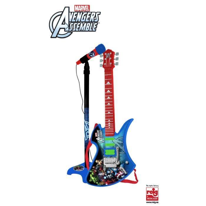 guitares enfant avengers achat vente guitares enfant avengers pas cher cdiscount. Black Bedroom Furniture Sets. Home Design Ideas