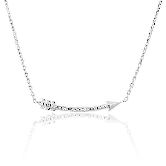 Collier TIPY Argent 925-1000 Oxyde