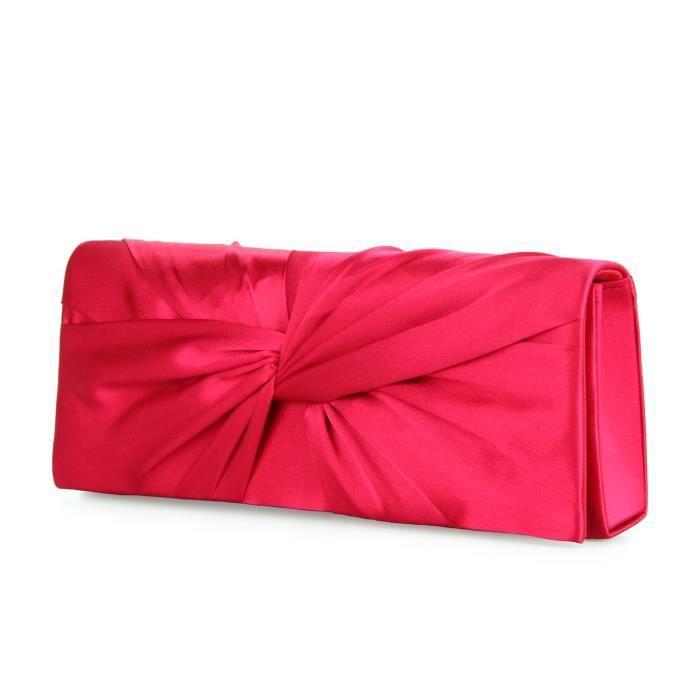 Craze womens sacs de soirée broderie gaze paillette dembrayage de mariage G1YPD