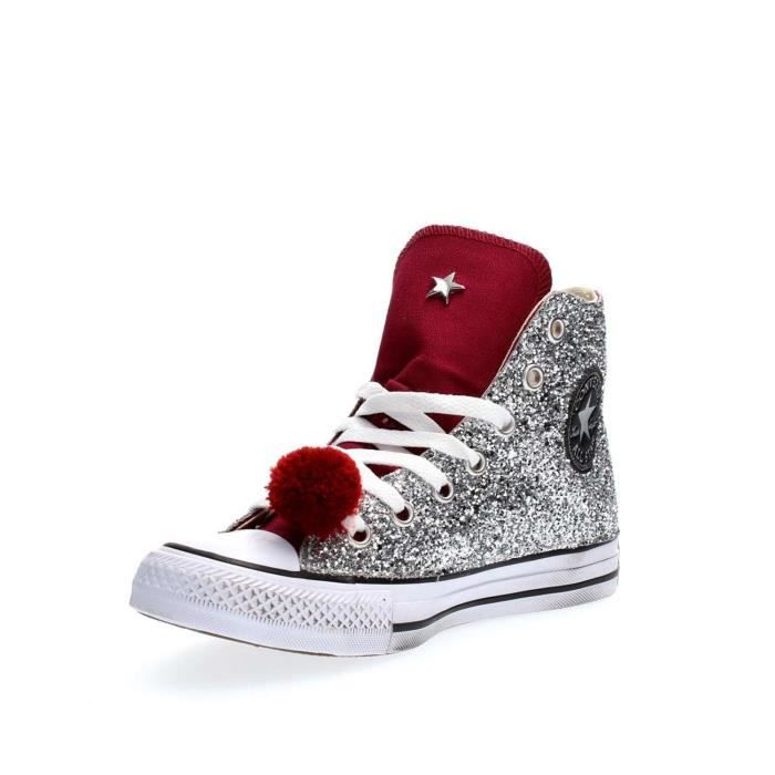CONVERSE SNEAKERS Femme SILVER, 39