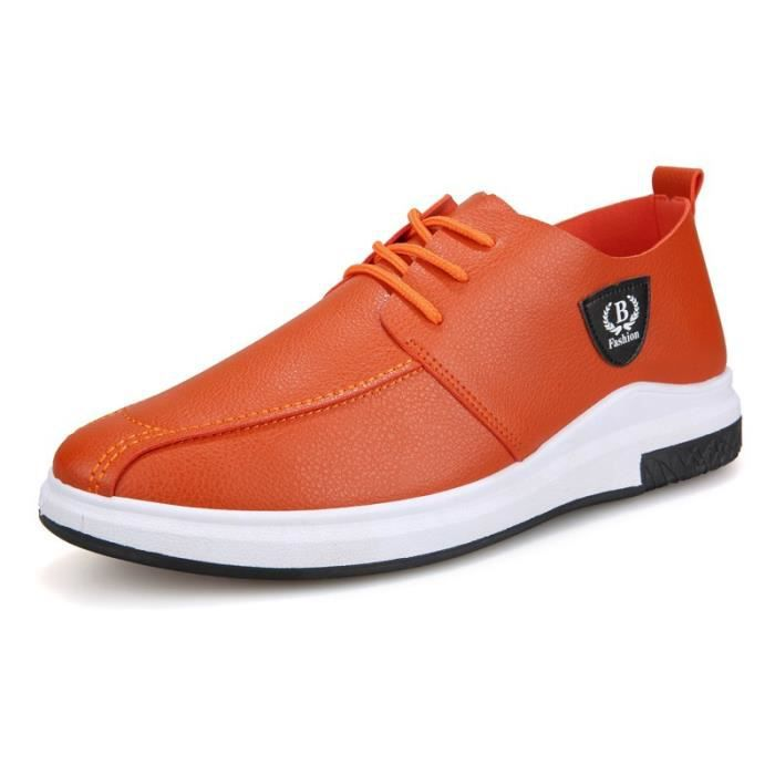 Hommes Chaussures en cuir Casual Chaussures Automne 2017 Mode pour hommes Chaussures Designer Casual grande taille Respirant L3RPqnigKu