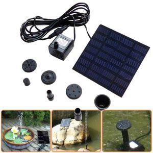 9bcaa2b083bcc FONTAINE DE JARDIN Basilesmile®1.2W 7V solaire alimenté par bassin de ...