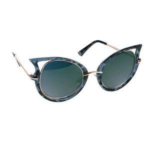 Lunettes de soleil Crazy bleu Bleu - Achat   Vente lunettes de ... 4c918c774640