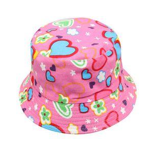 CHAPEAU - BOB Bébé garçons filles fleurs motif seau chapeau sole