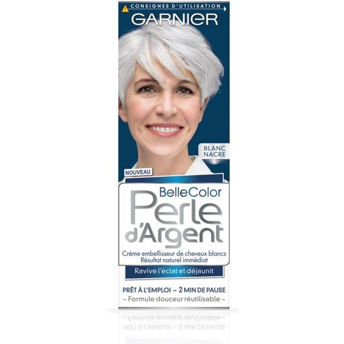 GARNIER Belle Color Perle d'Argent Coloration permanente - Blanc Nacre - 115 ml