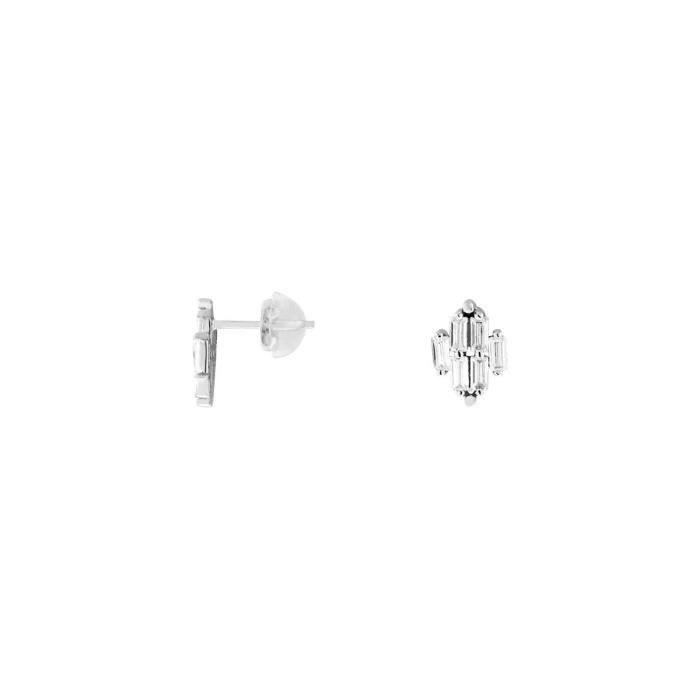 Boucles doreilles CLEOR Or 375-1000 Oxyde