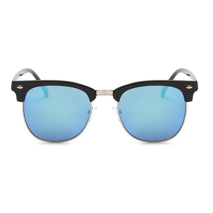 Couleur Film Lunettes de soleil monture Protection unisexe UV400 Lunettes Voyage NO.9