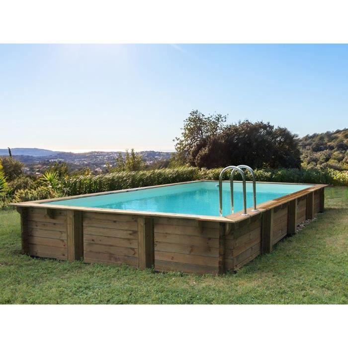 piscine bois 3x7