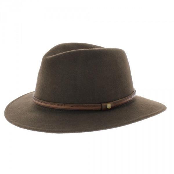 4c9aa79beafcc Chapeau Rantoul Traveller Stetson Kaki - Achat   Vente chapeau - bob ...