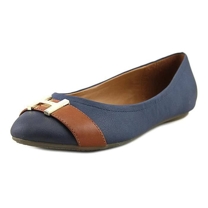 Tommy Hilfiger Pearla 2 Synthétique Chaussure Plate Bleu