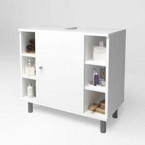petit meuble bas salle de bain achat vente pas cher. Black Bedroom Furniture Sets. Home Design Ideas