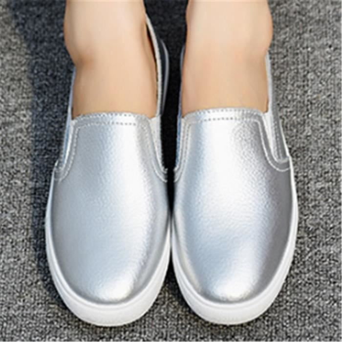 Loafer femmes Poids Léger Moccasins Nouvelle Mode Marque cool De Luxe Femme Chaussure Confortable Respirant Grande Taille 35-40 cSPi8v8W7S