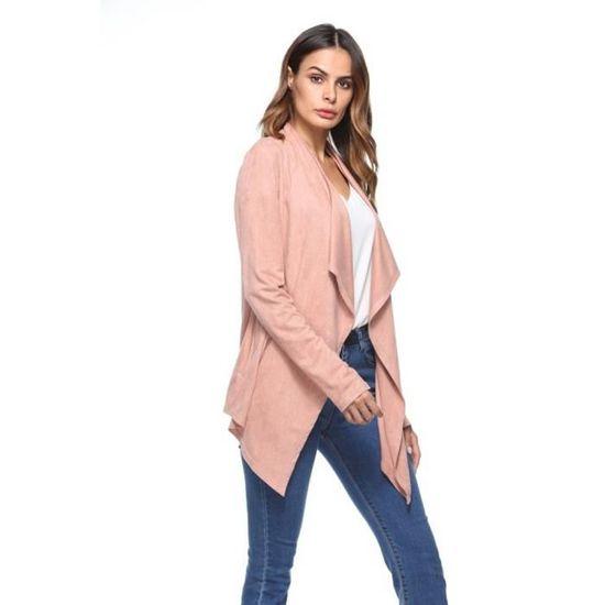 Slim Top Zy20184318 Veste Manteau Outwear femmes Blazer Suit Casual Frankmall Femmes Tops XPE0qUx8