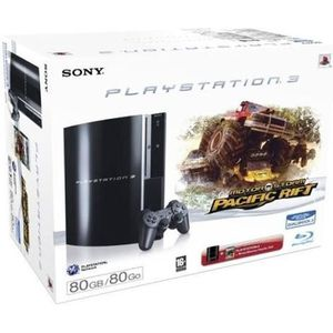 CONSOLE PS3 CONSOLE SONY PS3 MOTORSTORM PACIFIC RIFT PLAYSTATI