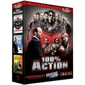DVD FILM DVD Coffret 100% action : the expendables ; dom...