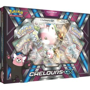 CARTE A COLLECTIONNER Coffret Chelours Gx - Asmodee - Version Fran?aise