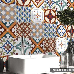 OBJET DÉCORATION MURALE Stickers muraux carrelage cuisine cuisine salle de