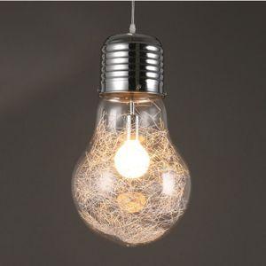 Lustre Plafonnier Economie Ampoule Creatif Led Lumiere Chaude
