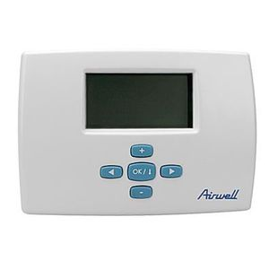 THERMOSTAT D'AMBIANCE Thermostat d'ambiance programmable filaire Airwell
