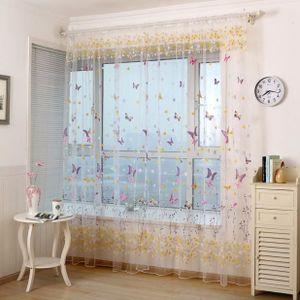 RIDEAU Fenêtre papillon écrans Porte Balcon rideau Pannea