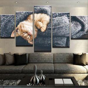 tableaux peinture sur toile chat achat vente tableaux peinture sur toile chat pas cher. Black Bedroom Furniture Sets. Home Design Ideas
