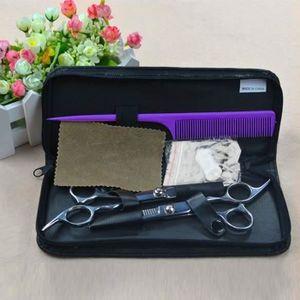 CISEAUX - EFFILEUR Professionnel de coiffure  Ciseaux coiffure Set in