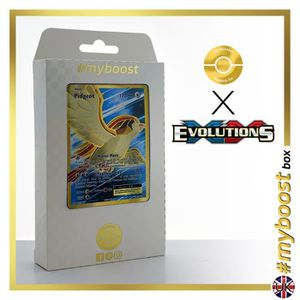 CARTE A COLLECTIONNER PIDGEOT (ROUCARNAGE) EX 104-108 FULL ART- #myboost
