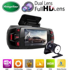 BOITE NOIRE VIDÉO Z4 Plus Dual Lens Dashcam Voiture DVR Dashboard Ca