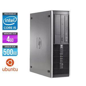 UNITÉ CENTRALE  Pc de bureau HP Elite 8200 - Core i5 - 4Go - HDD 5