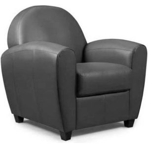 FAUTEUIL Fauteuil CLUB BUFALLO gris anthracite