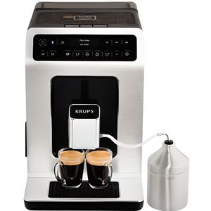MACHINE À CAFÉ Expresso broyeur KRUPS YY3070FD Evidence Métal con