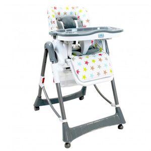 CHAISE HAUTE  Chaise haute bébé / enfant, pliable, réglable haut