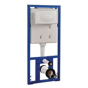 WC - TOILETTES Bâti-support caché réservoir pour WC muraux