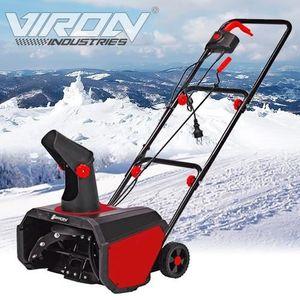 CHASSE NEIGE Fraise à neige déneigeuse électrique 1600W Viron M