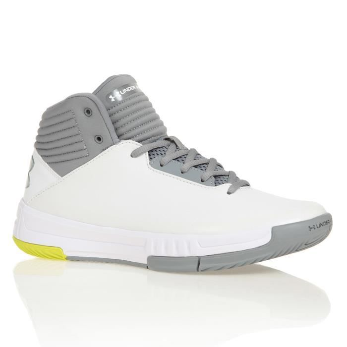 UNDER ARMOUR Chaussures de basketball Lockdown 2 - Blanc