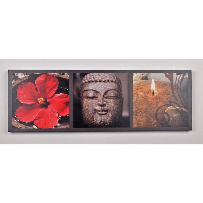 TABLEAU - TOILE Tableau déco Zen  1 -  Impression sur toile  -  30