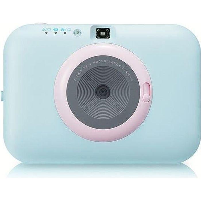 LG PC389 POCKET PHOTO PAPER - Appareil photo instantané - Impression papier - Bleu