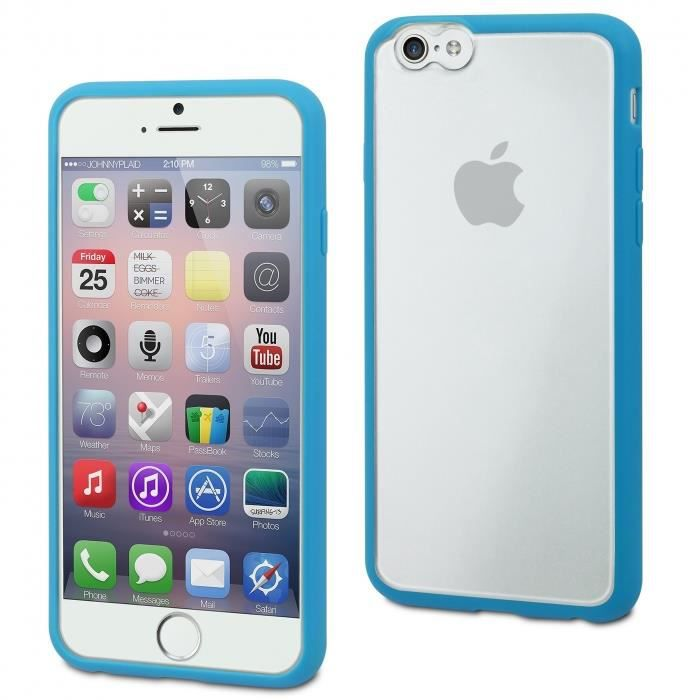 MUVIT Myframe Coque - Bleue - Pour Apple Iphone 6, 6s