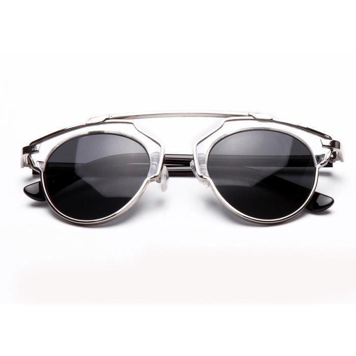 Lunettes De Soleil Lunettes De Soleil brillantes Fashion Sunglasses Yurt Lunette Or En Or Noir wUXyMTi