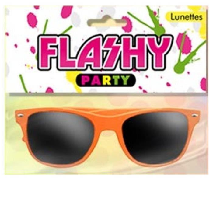 Lunettes Flashy Orange