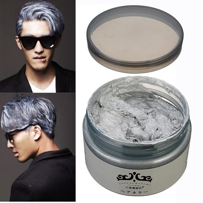 Application couleur de cheveux homme