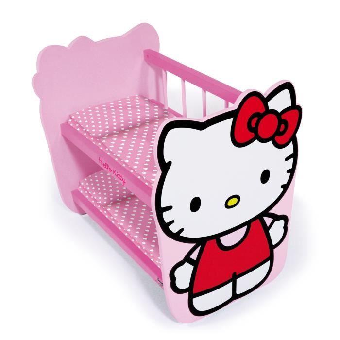 lit poupee hello kitty achat vente jeux et jouets pas chers. Black Bedroom Furniture Sets. Home Design Ideas