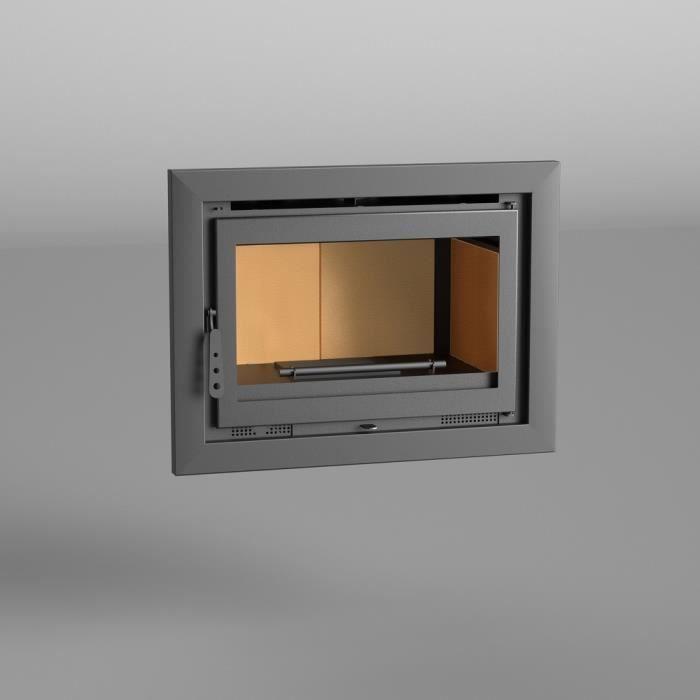 INSERT - FOYER FM Insert de cheminée I-180 12,5kW avec porte en f
