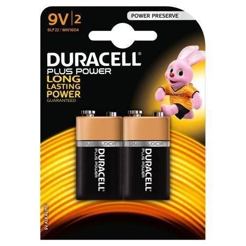 Duracell Plus Power Piles Alcalines type 9V, Lot de 2 - Achat ... 51c94eb6ce4b