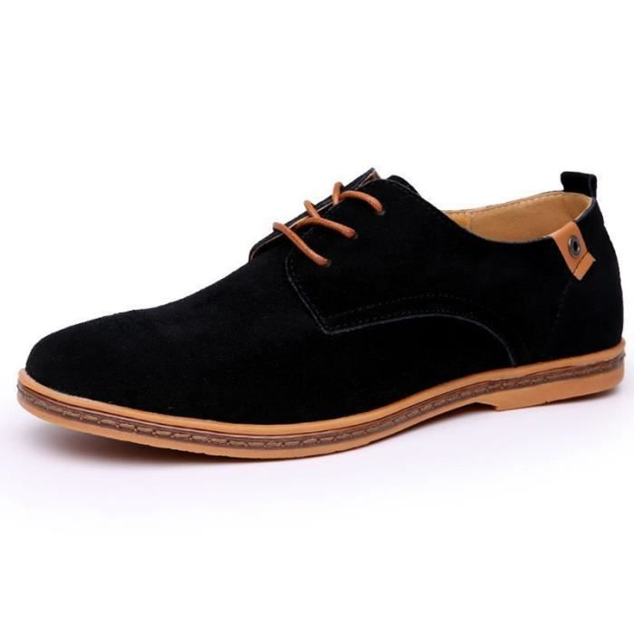 88b65c74f2444 Chaussure Mocassins homme - Suede classic oxford chaussures cuir ...