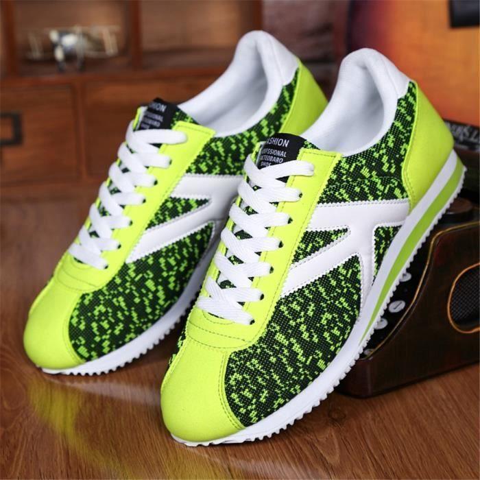 Homme Sneaker Qualité SupéRieure Chaussure Loisirs Nouvelle Arrivee Cool Poids Léger Confortable Chaussure AntidéRapant 39-44 0Fqwt4L