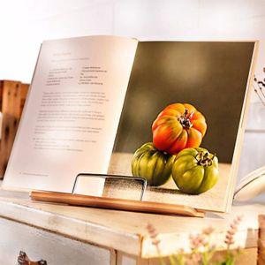 Support livre cuisine achat vente support livre cuisine pas cher cdiscount - Tablette recette cuisine ...