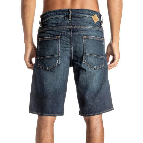 The 30 Bermuda Jeans Homme Quiksilver Avalon Taille Bleu H2E9ID