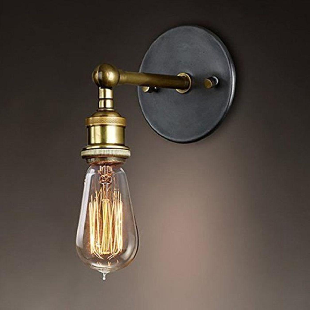 Rétro Luminaire Applique Murale Style Industriel Réglable Finition ...